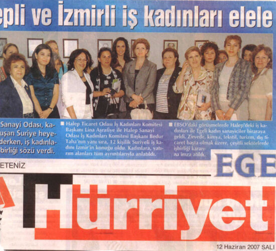 Gülçin Güloğlu İzmirli İş Kadınları Elele Haberi