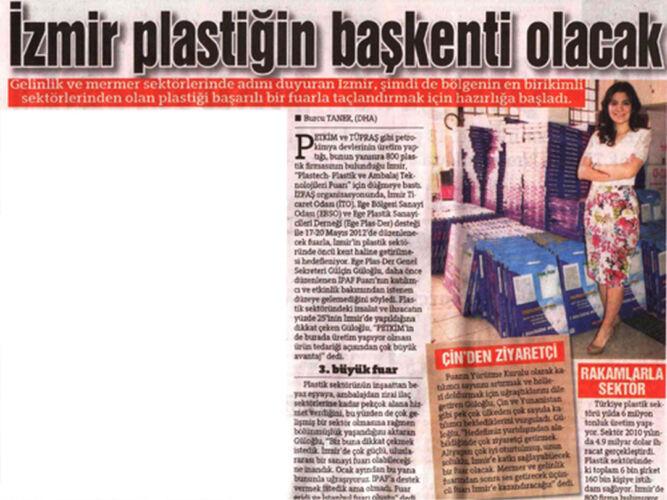 Gülçin Güloğlu İzmir Plastiğin Başkenti Olacak Haberi