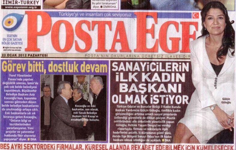 Gülçin Güloğlu Ebso Başkan Yardımcısı Haberi